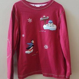 Janie and Jack iceburg Friday shirt Christmas 7